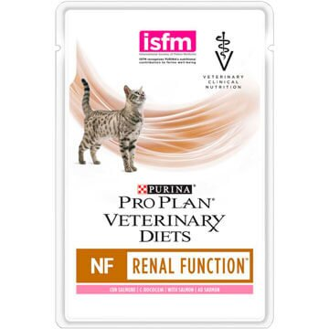 PRO PLAN® VETERINARY DIETS NF RENAL FUNCTION для кошек при патологии почек, с лососем